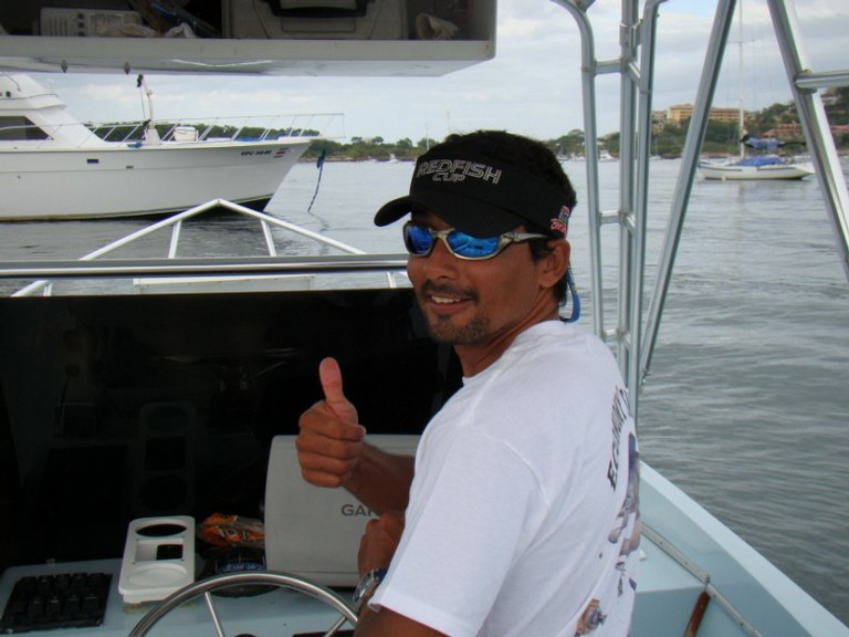 Evelio Molina born and raised in Flamingo, fishing charters tours costa rica pacific coast stripe marlin - big
