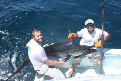 fishing charter tours costa rica mr trigger and emilio flamingo.jpg - small