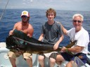 fishing charters tours costa rica pacific coast dorado catch - thumbnail