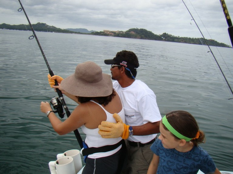 Family Fishing fishing charters tours costa rica pacific coast - big