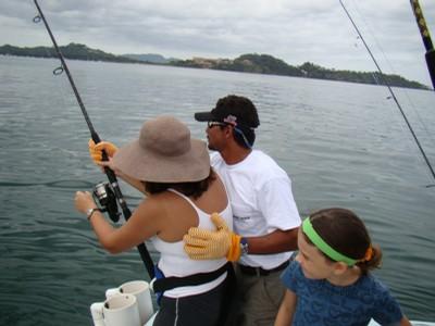 Family Fishing fishing charters tours costa rica pacific coast - small