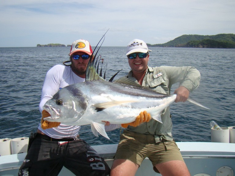 Rooster catch fishing charters tours costa rica pacific coast - big