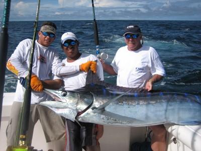 Sport Fishing for Striped Marlin in Costa Rica Pacific Coast - small