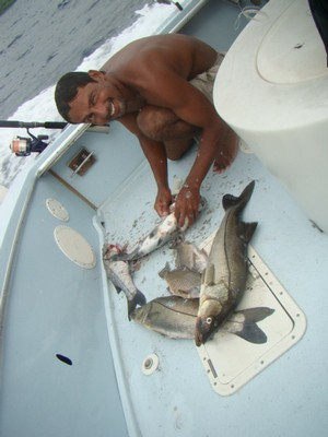Snook (Rabalo) fishing charters tours costa rica pacific coast - small
